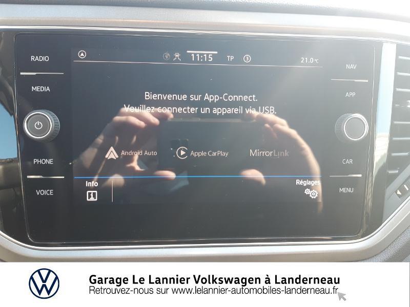 Photo 18 de l'offre de VOLKSWAGEN T-Roc 1.0 TSI 110ch Lounge à 23330€ chez Garage Le Lannier - Volkswagen Landerneau