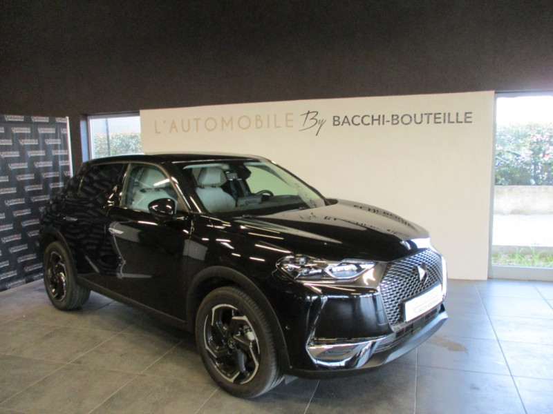 Ds DS 3 CROSSBACK PURETECH 130CH GRAND CHIC AUTOMATIQUE 109G Essence NOIR Occasion à vendre