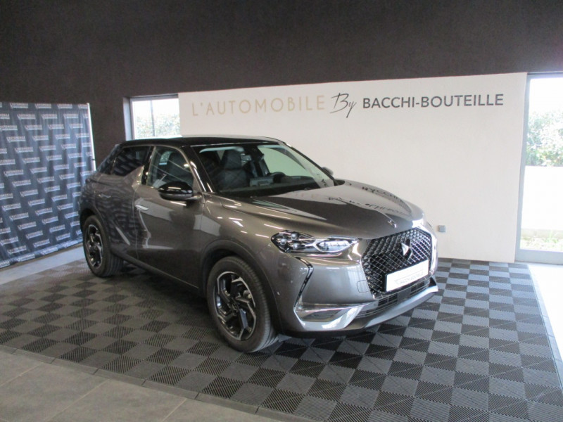 Ds DS 3 CROSSBACK BLUEHDI 100CH GRAND CHIC 97G Diesel GRIS F Occasion à vendre