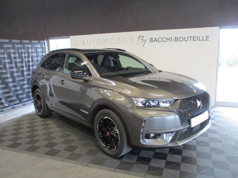 Ds DS 7 CROSSBACK PURETECH 225CH PERFORMANCE LINE + AUTOMATIQUE 12CV 125G Essence GRIS F Occasion à vendre