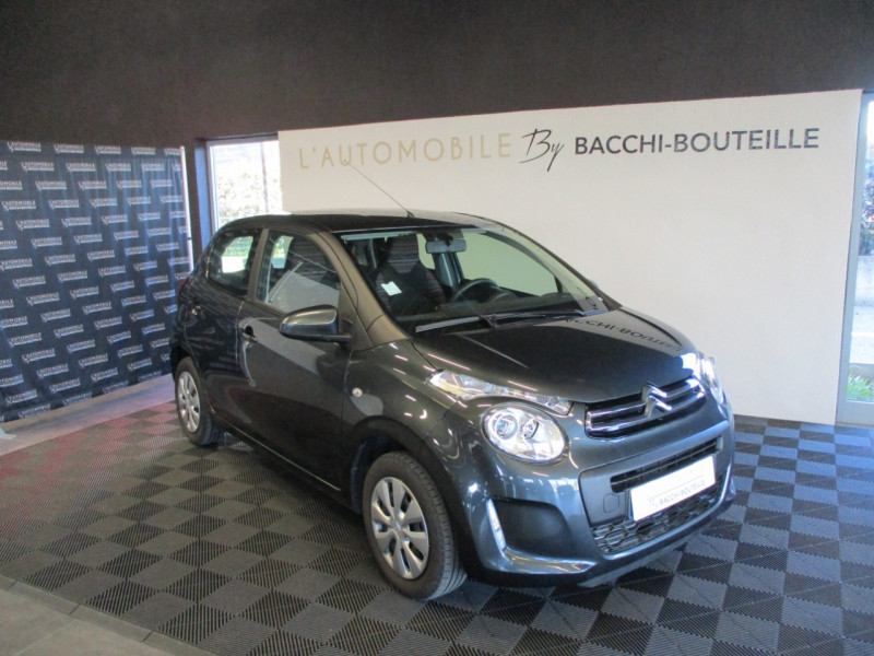 Citroen C1 VTI 72 S&S FEEL 5P E6.D-TEMP Essence GRIS F Occasion à vendre