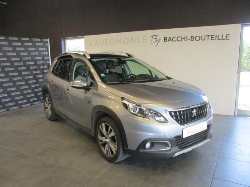 Peugeot 2008 1.2 PURETECH 110CH E6.C CROSSWAY S&S EAT6 Essence GRIS C Occasion à vendre
