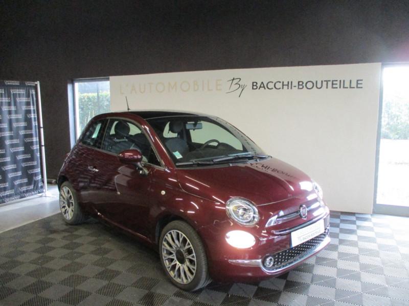 Fiat 500 1.2 8V 69CH ECO PACK STAR 109G Essence BORDEAU Occasion à vendre