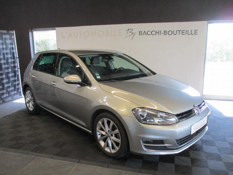 Volkswagen GOLF VII 1.4 TSI 140CH ACT BLUEMOTION TECHNOLOGY CARAT DSG7 5P Essence GRIS F Occasion à vendre