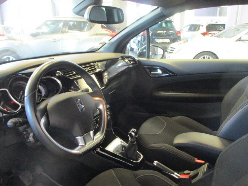 Photo 5 de l'offre de CITROEN DS3 E-HDI 90CH SO IRRESISTIBLE à 9480€ chez L'automobile By Bacchi-Bouteille