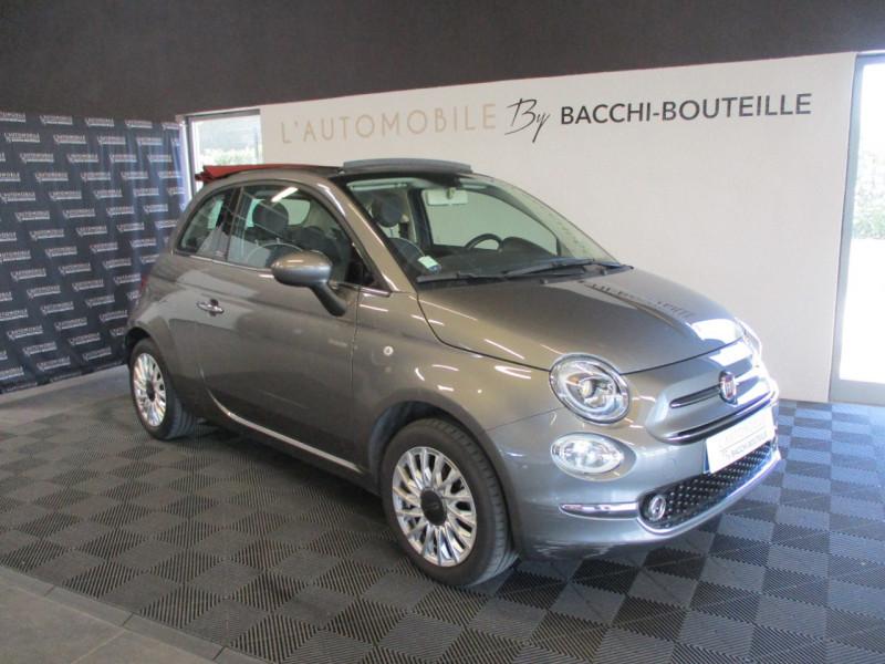 Fiat 500C 1.2 8V 69CH LOUNGE Essence GRIS Occasion à vendre