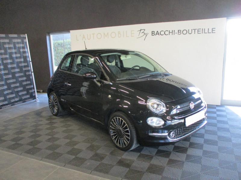 Fiat 500 1.2 8V 69CH LOUNGE Essence NOIR Occasion à vendre