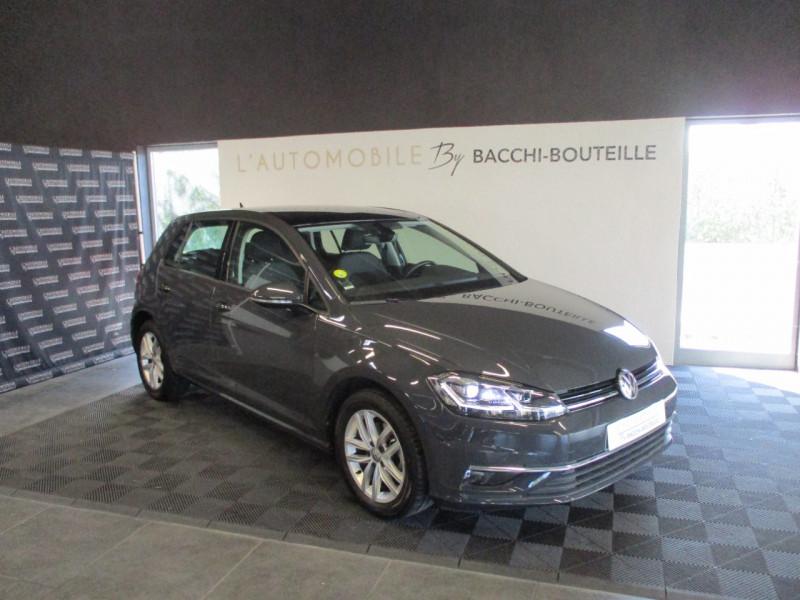 Volkswagen GOLF VII 1.6 TDI 115CH BLUEMOTION TECHNOLOGY FAP CARAT DSG7 5P Diesel GRIS F Occasion à vendre