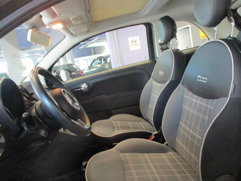 Photo 9 de l'offre de FIAT 500 1.2 8V 69CH LOUNGE à 11890€ chez L'automobile By Bacchi-Bouteille