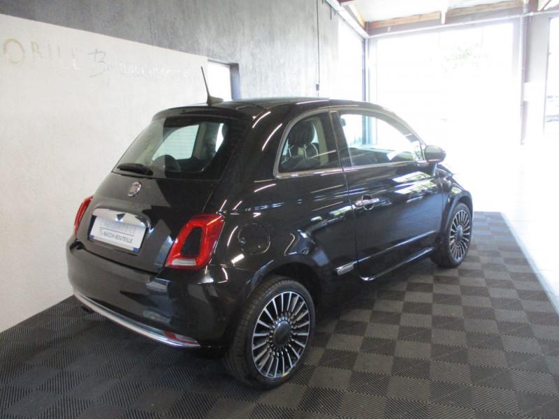 Photo 4 de l'offre de FIAT 500 1.2 8V 69CH LOUNGE à 11890€ chez L'automobile By Bacchi-Bouteille