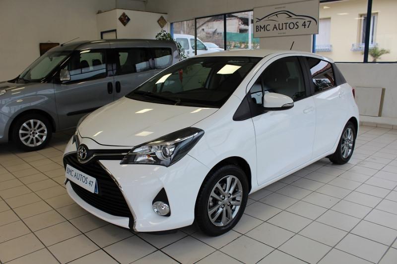 Toyota YARIS 100 VVT-I DYNAMIC 5P Essence BLANC Occasion à vendre