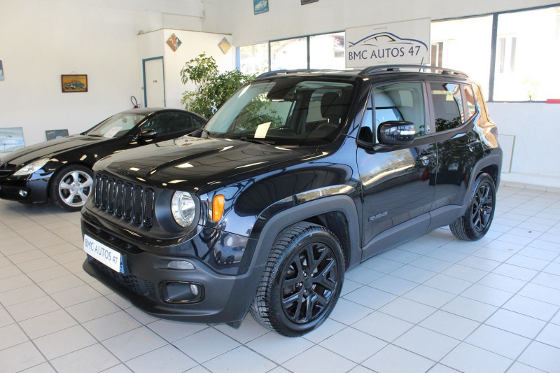 Jeep RENEGADE 1.6 MULTIJET S&S 120CH BROOKLYN EDITION Diesel NOIR METALLISEE Occasion à vendre