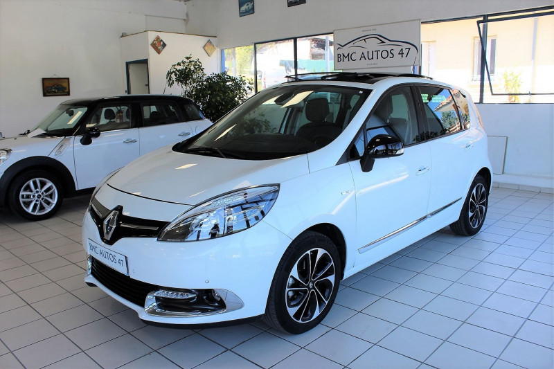 Renault SCENIC III 1.5 DCI 110CH ENERGY BOSE ECO² EURO6 2015 Diesel BLANC Occasion à vendre