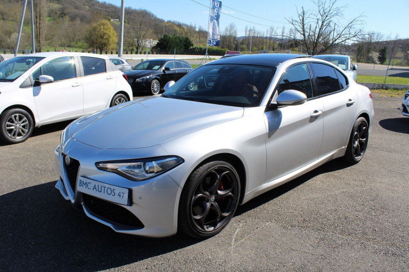 Photo 1 de l'offre de ALFA ROMEO GIULIA 2.2 JTD 190CH SPORT EDITION AT8 MY19 à 32900€ chez BMC Autos 47
