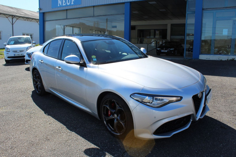 Photo 10 de l'offre de ALFA ROMEO GIULIA 2.2 JTD 190CH SPORT EDITION AT8 MY19 à 32900€ chez BMC Autos 47