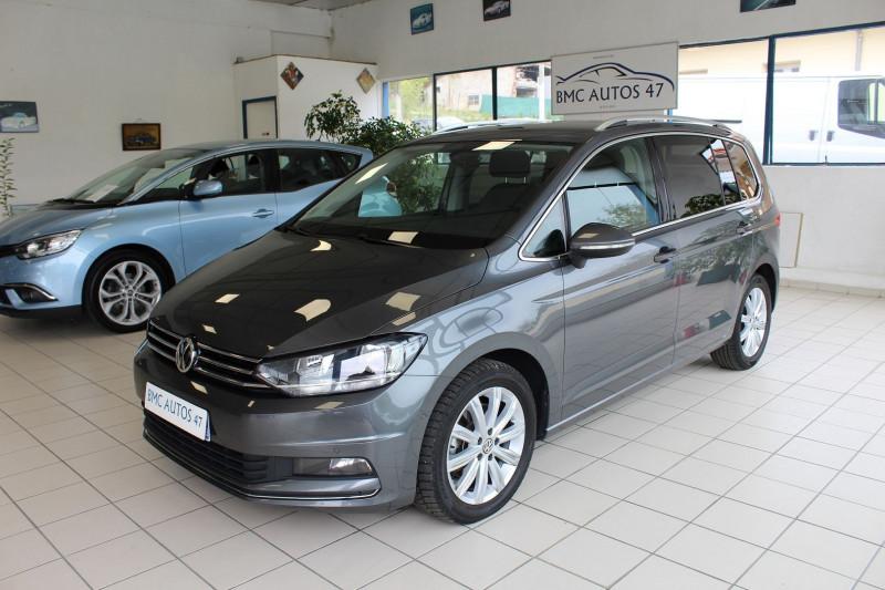 Volkswagen TOURAN 2.0 TDI 150CH BLUEMOTION TECHNOLOGY FAP CARAT DSG6 5 PLACES Diesel ANTHRACITE Occasion à vendre
