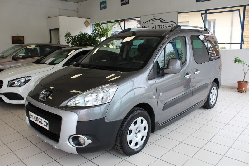 Peugeot PARTNER TEPEE 1.6 HDI92 FAP OUTDOOR Diesel GRIS ANTHRACITE  Occasion à vendre