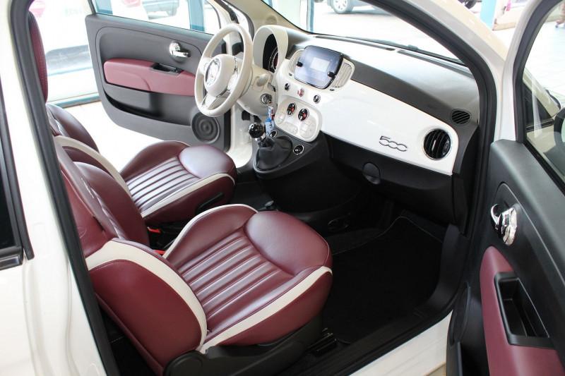 Photo 3 de l'offre de FIAT 500 1.2 8V 69CH CLUB à 11990€ chez BMC Autos 47