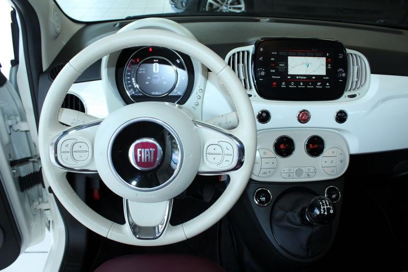 Photo 19 de l'offre de FIAT 500 1.2 8V 69CH CLUB à 11990€ chez BMC Autos 47