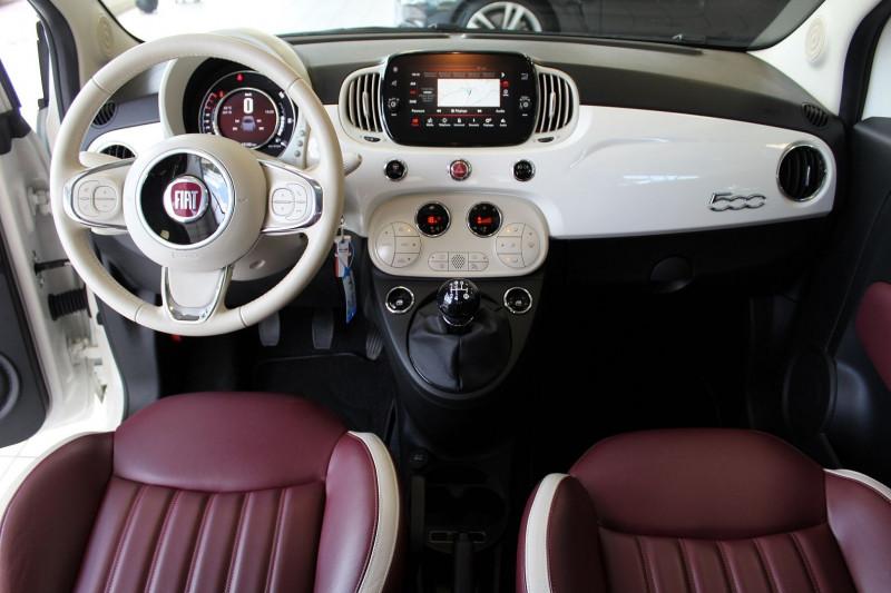 Photo 4 de l'offre de FIAT 500 1.2 8V 69CH CLUB à 11990€ chez BMC Autos 47