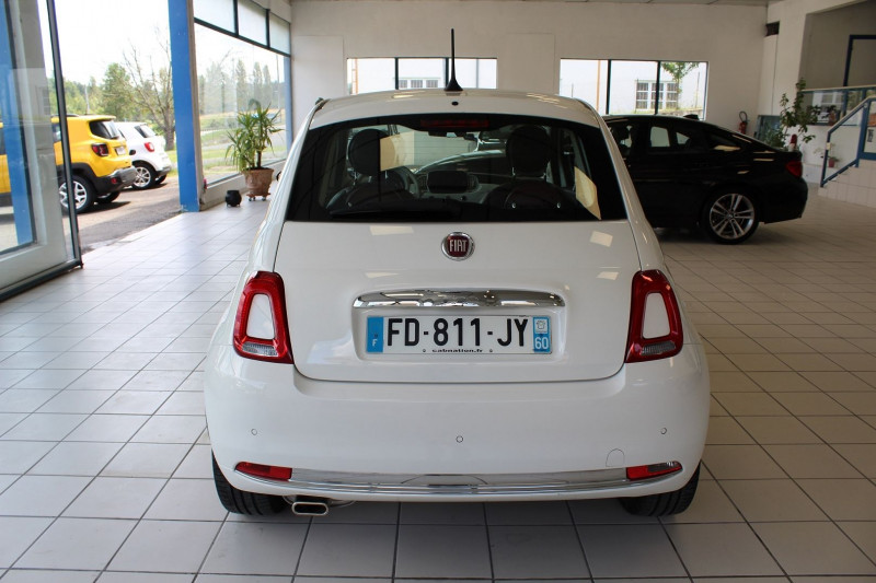 Photo 16 de l'offre de FIAT 500 1.2 8V 69CH CLUB à 11990€ chez BMC Autos 47