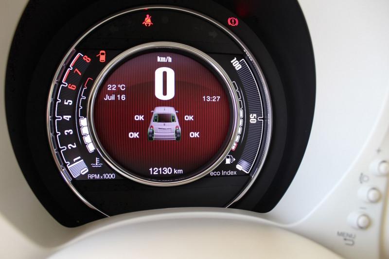 Photo 21 de l'offre de FIAT 500 1.2 8V 69CH CLUB à 11990€ chez BMC Autos 47