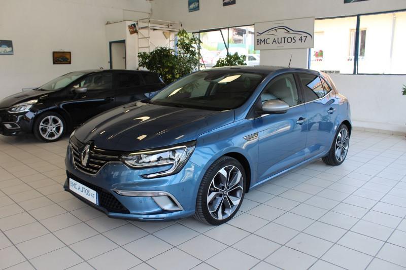 Renault MEGANE IV 1.5 DCI 110CH ENERGY INTENS EDC Diesel BLEU Occasion à vendre