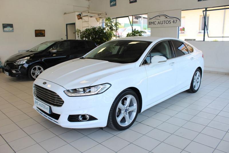 Ford MONDEO 2.0 TDCI 180CH TITANIUM POWERSHIFT 5P Diesel BLANC Occasion à vendre