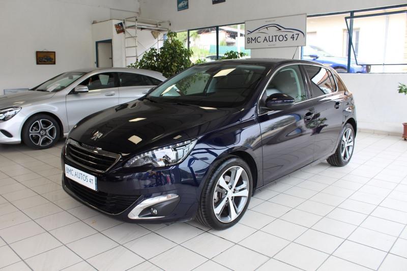 Peugeot 308 1.6 BLUEHDI 120CH ALLURE S&S EAT6 5P Diesel BLEU NUIT METALLISEE Occasion à vendre