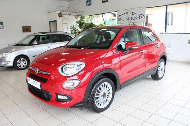 Fiat 500X 1.6 MULTIJET 16V 120CH POPSTAR BUSINESS Diesel ROUGE  Occasion à vendre