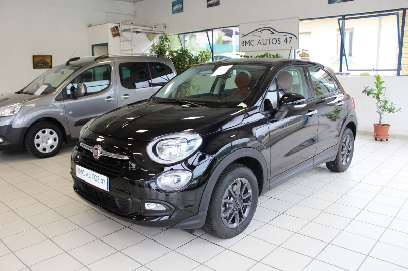 Fiat 500X 1.6 MULTIJET 16V 120CH POPSTAR Diesel NOIR Occasion à vendre