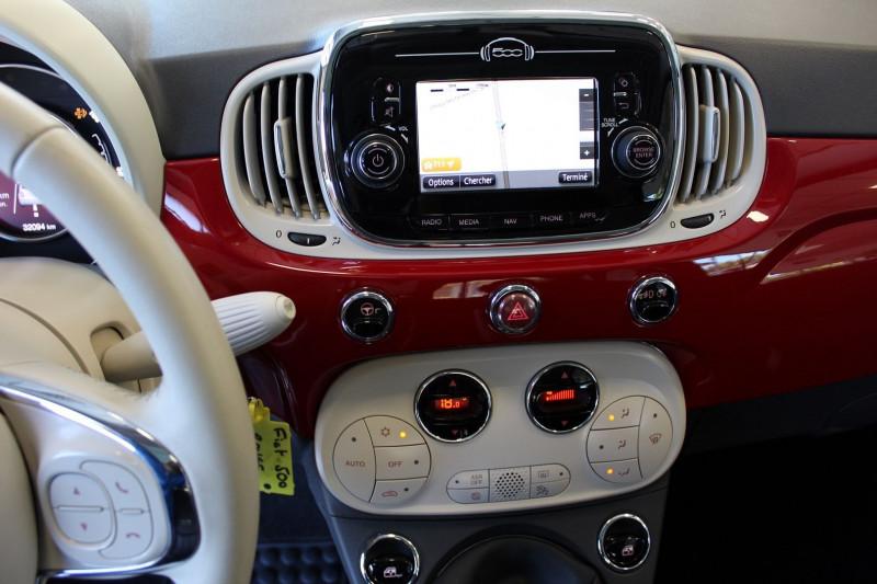 Photo 11 de l'offre de FIAT 500 1.3 MULTIJET 16V 95CH DPF S&S CLUB à 11900€ chez BMC Autos 47