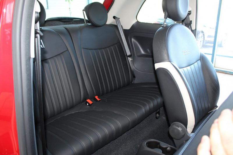 Photo 5 de l'offre de FIAT 500 1.3 MULTIJET 16V 95CH DPF S&S CLUB à 11900€ chez BMC Autos 47