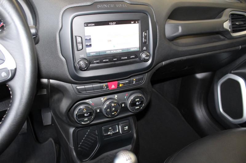 Photo 12 de l'offre de JEEP RENEGADE 1.6 MULTIJET S&S 120CH LIMITED à 13900€ chez BMC Autos 47