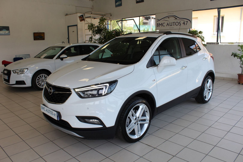 Opel MOKKA X 1.6 D 136 ULTIMATE 4X2 BVA EURO6D-T Diesel BLANC Occasion à vendre