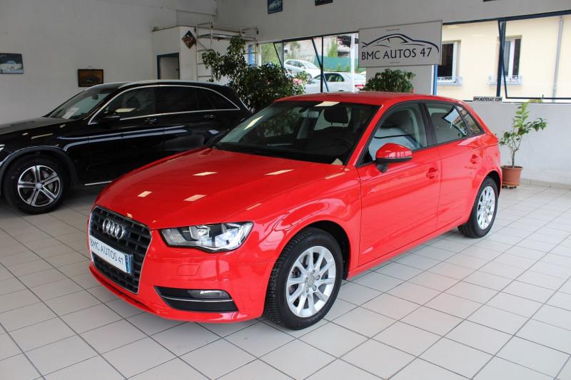 Audi A3 SPORTBACK 1.6 TDI 110CH FAP BUSINESS LINE S TRONIC 7 Diesel ROUGE  Occasion à vendre