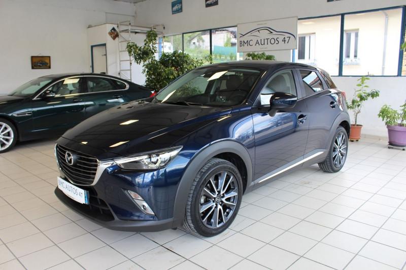 Mazda CX-3 2.0 SKYACTIV-G 120 SIGNATURE BVA Essence BLEU Occasion à vendre