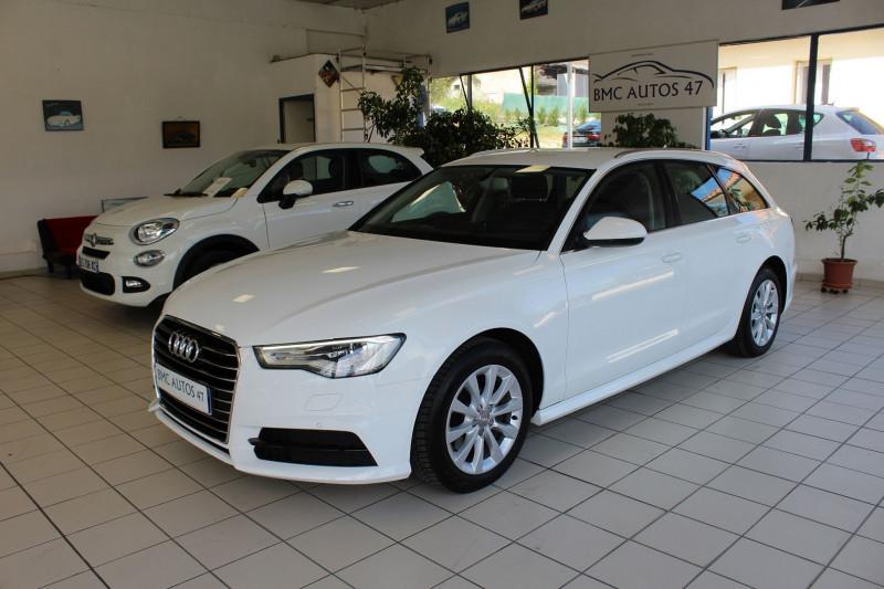 Audi A6 AVANT 2.0 TDI 150CH ULTRA AMBIENTE S TRONIC 7 Diesel BLANC IBIS Occasion à vendre
