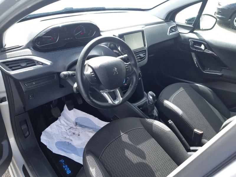 Photo 6 de l'offre de PEUGEOT 208 1.6 BLUEHDI 75CH STYLE 5P à 8490€ chez Carlyss automobiles Vitré
