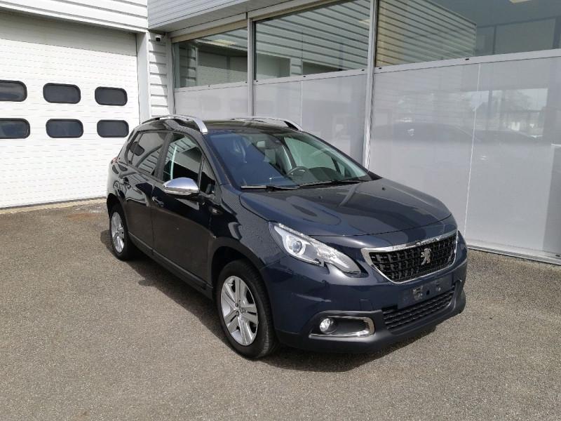 Peugeot 2008 1.6 BLUEHDI 100CH STYLE Diesel GRIS HURRICANE Occasion à vendre