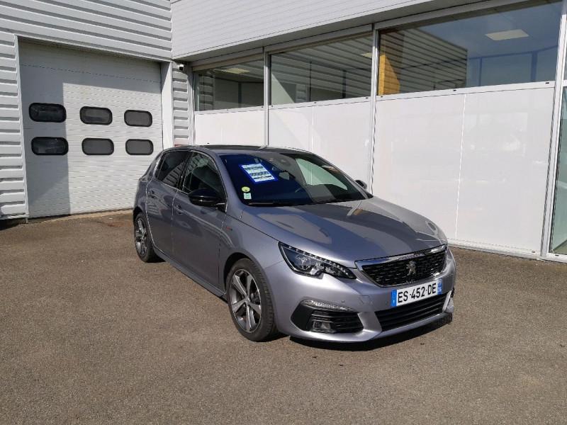 Peugeot 308 2.0 BLUEHDI 150CH S&S GT LINE EAT6 Diesel GRIS ARTENSE Occasion à vendre