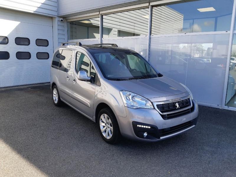 Peugeot PARTNER TEPEE 1.6 BLUEHDI 100CH STYLE Diesel GRIS ARTENSE Occasion à vendre