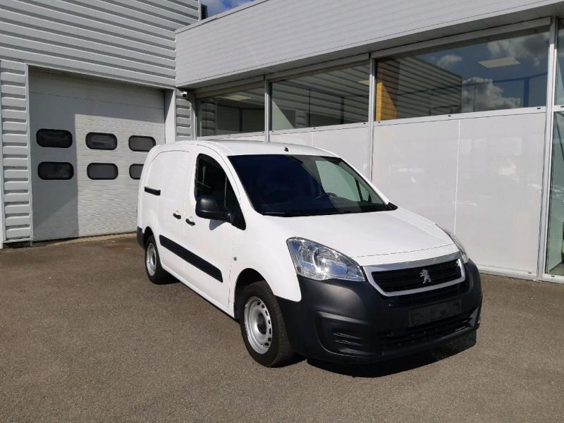 Peugeot PARTNER LONG 1.6 BLUEHDI 100CH PREMIUM Diesel BLANC Occasion à vendre
