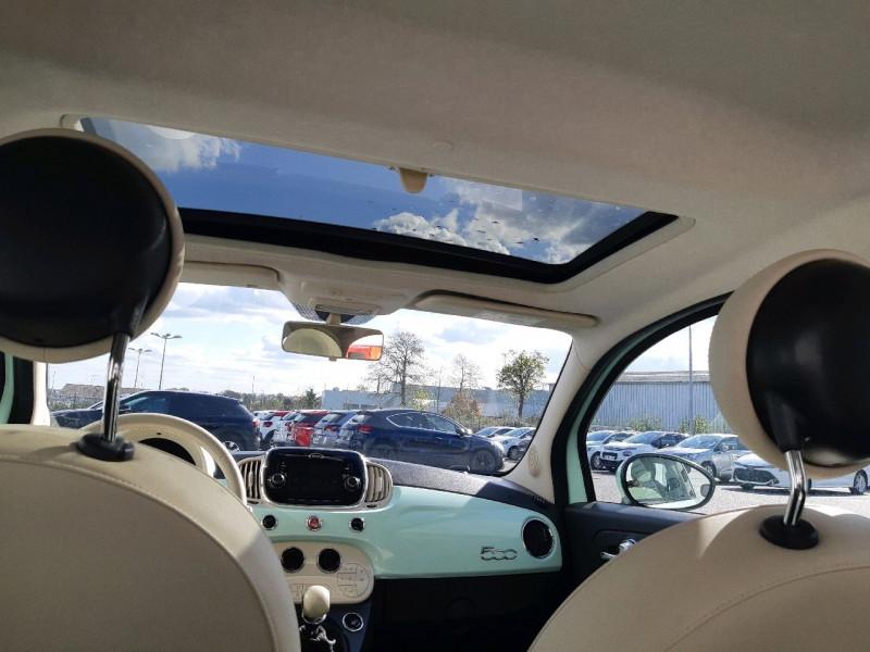 Photo 5 de l'offre de FIAT 500 0.9 8V TWINAIR 85CH S&S LOUNGE à 9790€ chez Carlyss automobiles Vitré