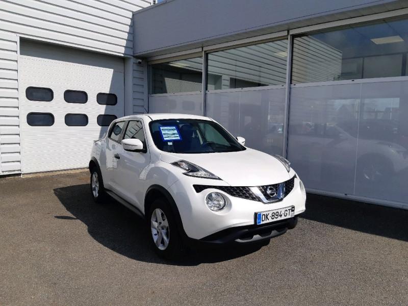 Nissan JUKE 1.6 94CH VISIA PACK Essence BLANC Occasion à vendre