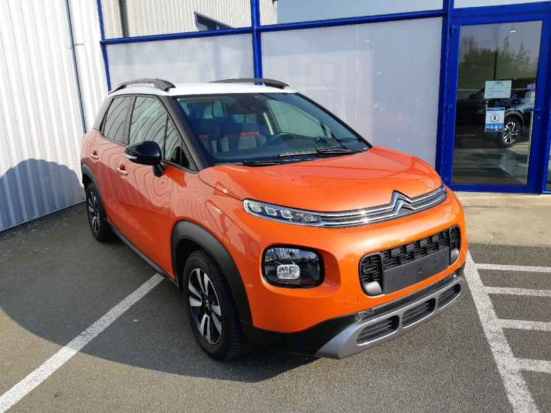 Citroen C3 AIRCROSS BLUEHDI 120CH S&S SHINE Diesel ORANGE SPICY Occasion à vendre