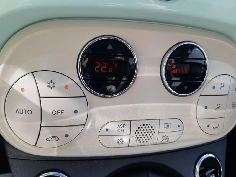 Photo 9 de l'offre de FIAT 500 0.9 8V TWINAIR 85CH S&S LOUNGE à 9790€ chez Carlyss automobiles Vitré