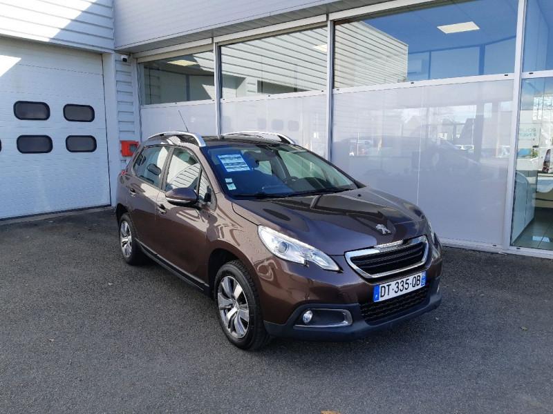 Peugeot 2008 1.6 E-HDI92 FAP BUSINESS PACK Diesel BRUN Occasion à vendre