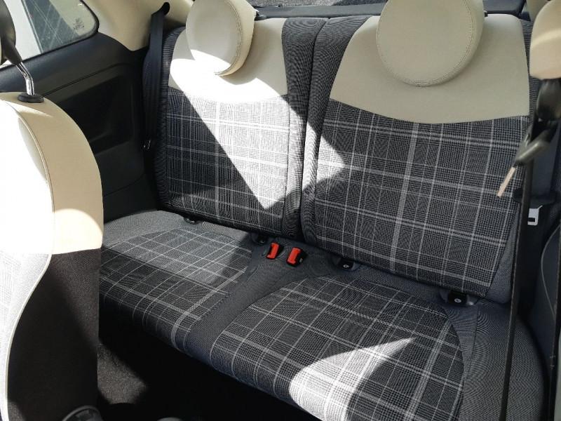 Photo 7 de l'offre de FIAT 500 0.9 8V TWINAIR 85CH S&S LOUNGE à 9790€ chez Carlyss automobiles Vitré