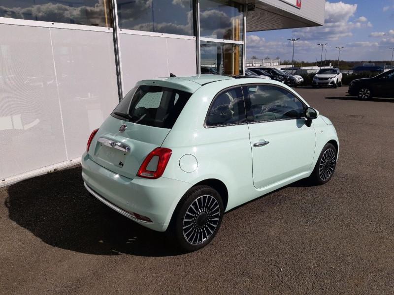 Photo 3 de l'offre de FIAT 500 0.9 8V TWINAIR 85CH S&S LOUNGE à 9790€ chez Carlyss automobiles Vitré